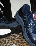 adidasy jogging LB 38ciemno granatowe prawie czarn