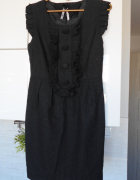 Atmosphere wełniana sukienka żabot...