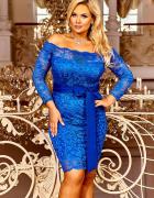 Sukienka koronkowa 36 38 40 42 44 46 48 50 kolor...