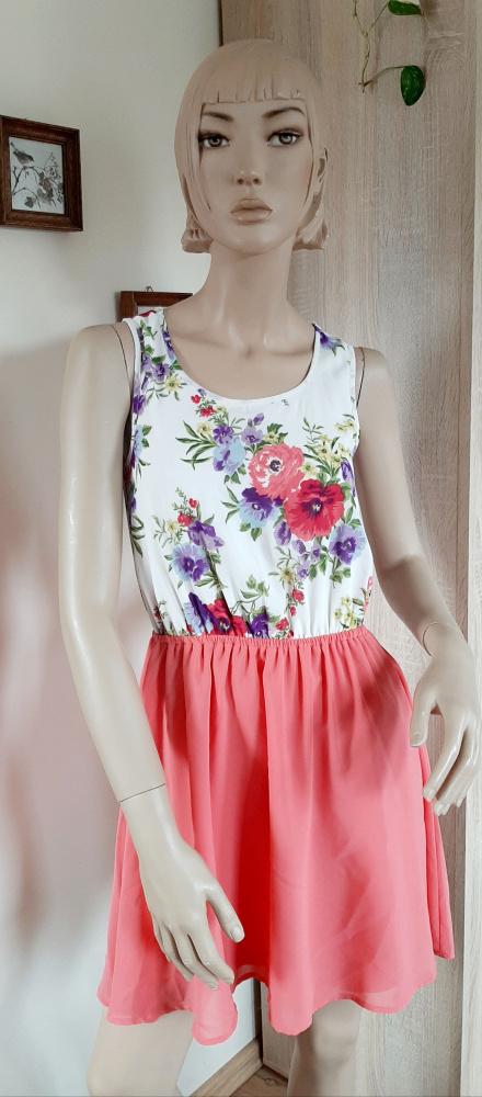 Suknie i sukienki Sukienka neon odkryte plecy