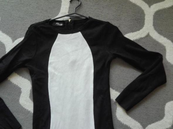 Czarno biała sukienka Jane Norman...