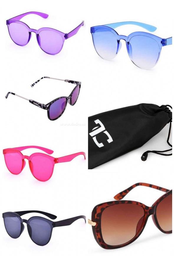 Tęczowe okulary przeciwsłoneczne 100 PROCENT ochrona UV RÓŻNE KOLORY UV400