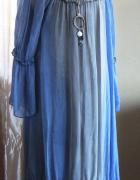 Sukienka błękitna cieniowana NOWA...