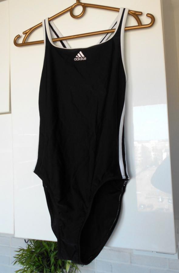Adidas czarny kostium jednoczęściowy...