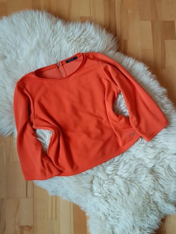Pomarańczowa bluzka Mohito L...
