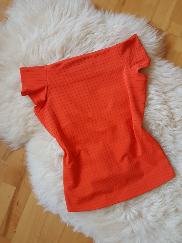 Pomarańczowa neonowa bluzka Mohito 38 40...