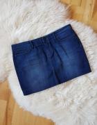 Dżinsowa spódniczka Mini Zara 42...