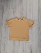 Bluza H&M żółta musztardowa S M luźna