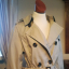 Kremowy Wiosenny Płaszcz