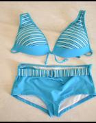 Kostium kąpielowy dwuczęściowy bikini rozmiar 40 L stan bdb