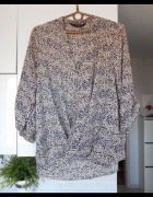 Dorothy Perkins kopertowa bluzka panterka leopard print...