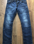 H&M tapered leg jeans low waist