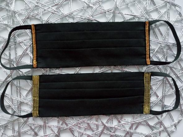 Elegancka maseczka ochronna bawełniana dwuwarstwowa certyfikat
