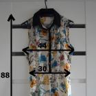 letnia sukienka w kwiatki rozmiar S