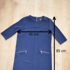 sukienka granatowa rozmiar S