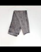 Spodnie dżinsowe H&M 34 44 czarne sprane dżinsy jeansy jeans de...