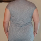 Atrakcyjny wygodny shirt rainbow melanż 3638