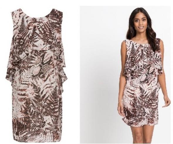 Bodyflirt sukienka wzory 42 xl