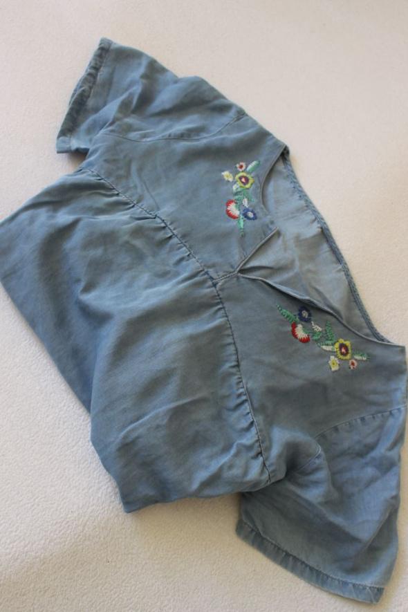 jeansowa sukienka bawełniana xl
