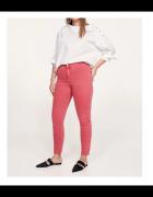Nowe spodnie dżinsy Mango Violeta 46 3XL jeansy jegginsy denim ...