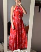 Piękna kwiatowa sukienka maxi M Reserved...