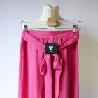 Spódnica Różowa Róż V by Vera M 38 Long NOWA Rozporki