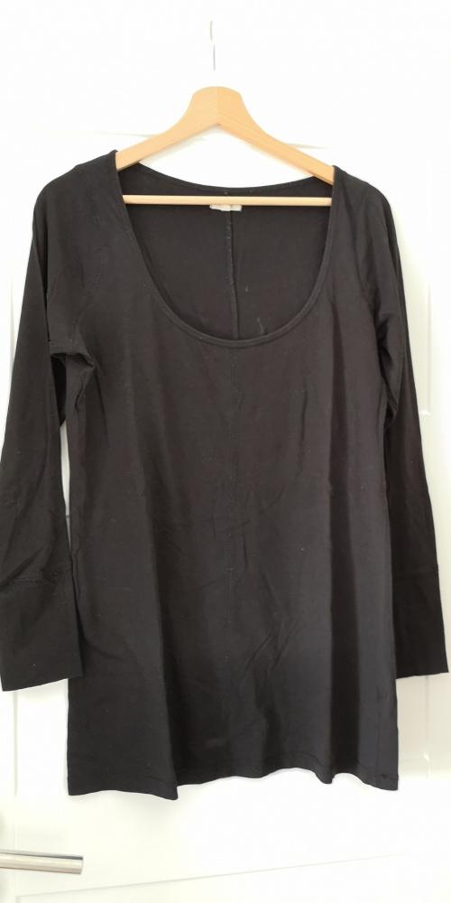 Bluzki Bluzka oversize long czarna New Look rozm 16 L 44