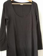 Bluzka oversize long czarna New Look rozm 16 L 44...