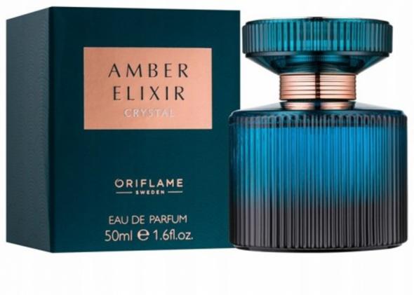 Woda perfumowana Amber Elixir Crystal Oriflame Nowa