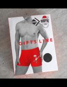 moraj męskie majtki świąteczne