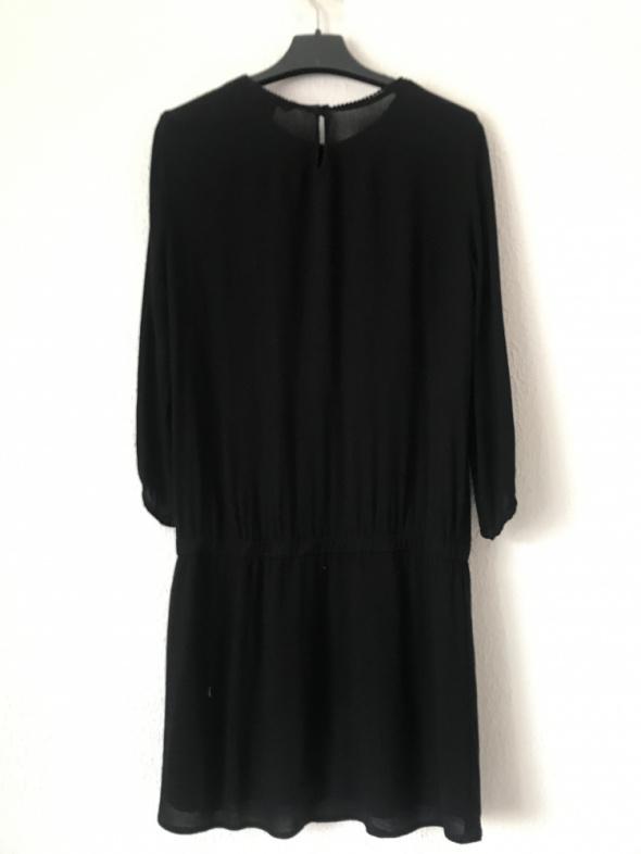 Czarna używana sukienka mini H&M 34 XS