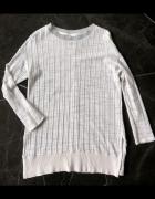 ZARA sweter tunika bluza melanż rozm M 38 NOWY...