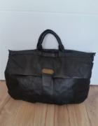 Czarna torba podróżna vintage...