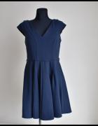 ASOS sukienka w kolorze granatowym 40 L...