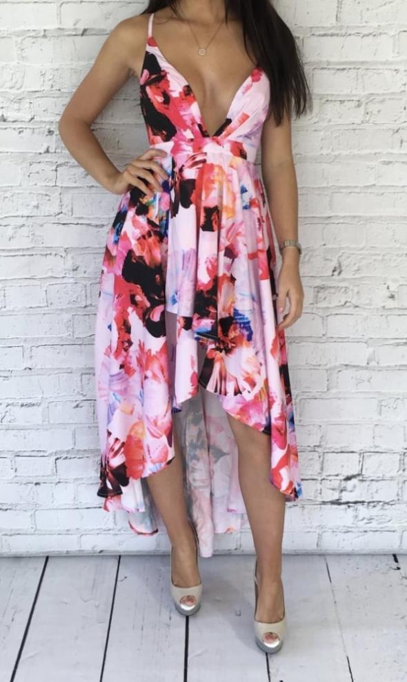 ginger fizz suknia maxi floral