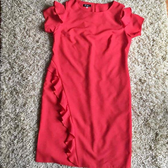 Suknie i sukienki Czerwona sukienka