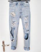 Najmodniejsze spodnie jeansowe z dziurami i przetarciami must h...