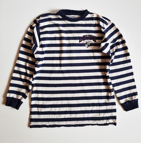 Vintage Koszula Koszulka LEVIS w paski w stylu Marine M ka