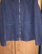 Nowoczesna granatowa kurtka H&M rozmiar XL...