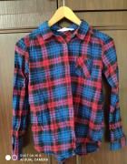 Kolorowa koszula w kratke...