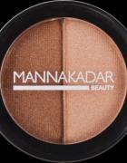 Manna Kadar Radiance Split Pan Bronzer and Highlighter Duo Bron...