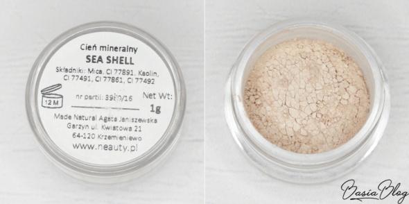 Neauty Cień MINERALNY kolor Sea Shell 1g