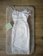 Biała koronkowa sukienka missguided...