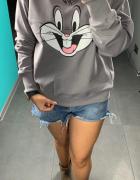 Bluza damska z nadrukiem SMLXL
