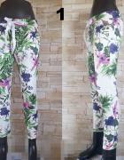 Spodnie dresowe w piękne kwiaty