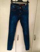 Jeansy XS 34 House rurki dżins...