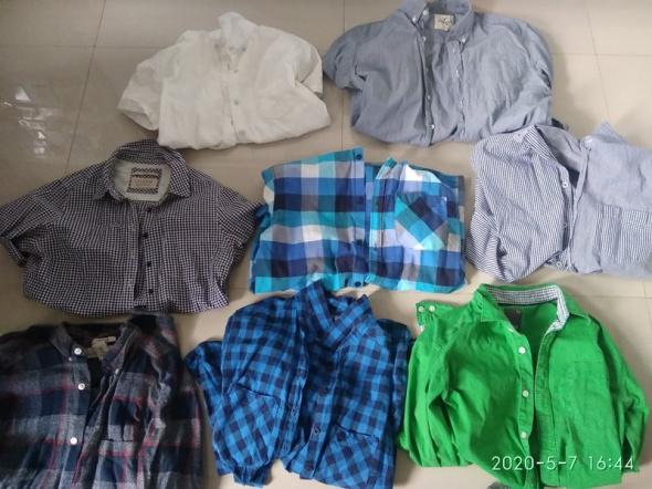 Koszule sprzedam zestaw 16 koszul lub kazda osobno