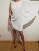 Elegancka nowa biała sukienka BY VERY rozm 42...