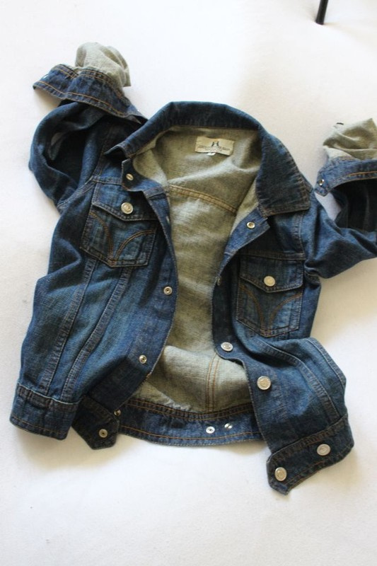 niebieska kurteczka jeansowa xs