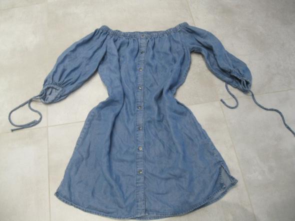 sukienka jeans NEW LOOK 38 hiszpanka niebieska...